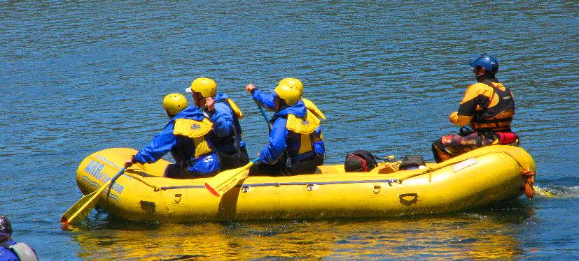 rafting-raft