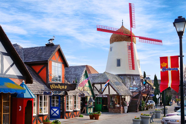 visit Solvang in California