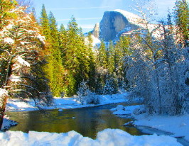 Yosemite Photos in Winter