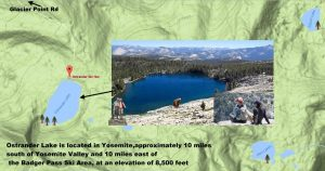 Ostrander Lake in Yosemite