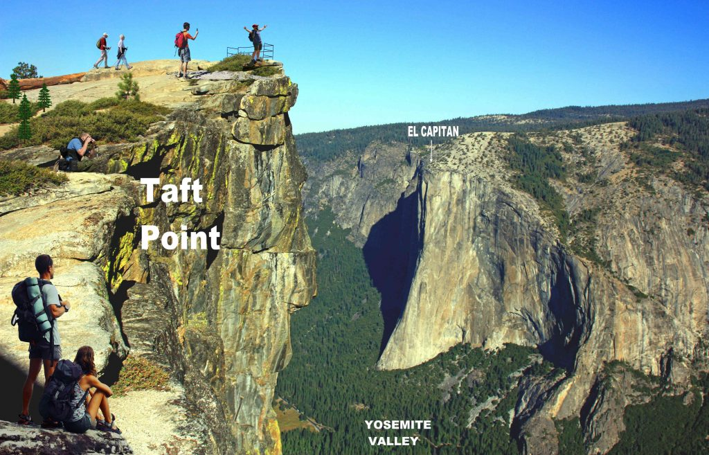 Taft Point YOSEMITE