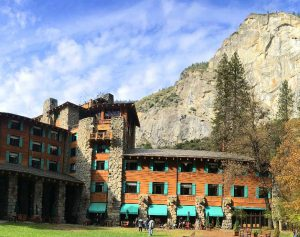 The Majestic Yosemite Hotel in Yosemite Valley