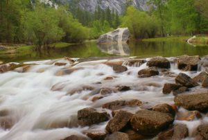 merced river in Yosemite valley